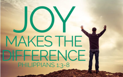 JOY MAKES THE DIFFERENCE