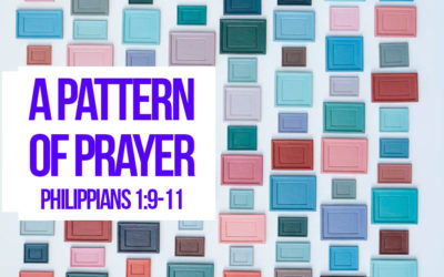 A PATTERN OF PRAYER